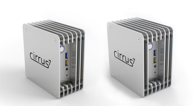 cirrus7 nimbini mit und ohne 2.5 SSD/HDD